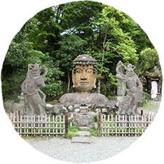 福泉寺の首大仏