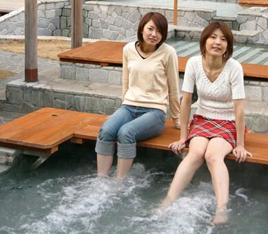 足湯施設・独歩の湯