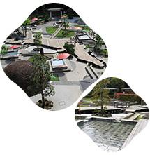 万葉公園 足湯施設 独歩の湯