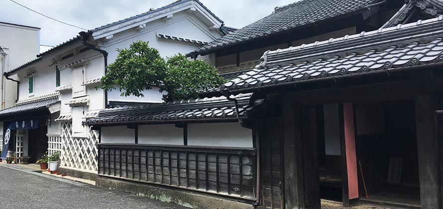 佐川町歴史の町並み