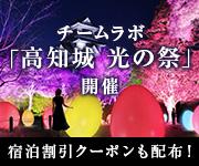 高知城 光の祭