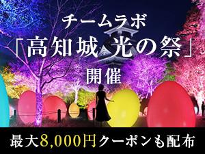 チームラボ「高知城 光の祭」開催!