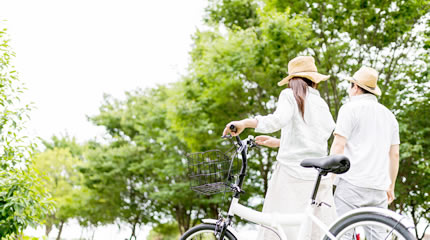 下諏訪地域を自転車で♪『レンタサイクル』