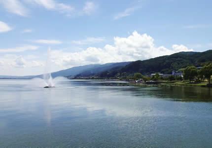 スワンバスで巡る諏訪湖一周コース