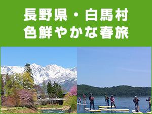 長野県・白馬村で色鮮やかな春旅を!