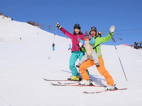 GWも銀世界が広がる「春スキー」
