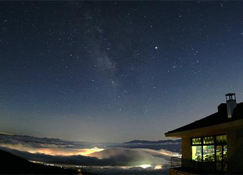 高峰高原ホテルの星空観望