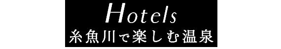 Hotel糸魚川で楽しむ温泉