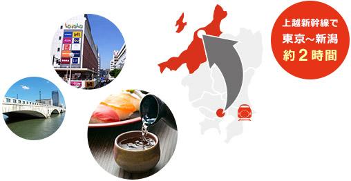 おいしいものいっぱい意外と近い!新潟市 食べたくなったらすぐ行こう!