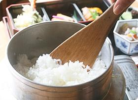 羽釜炊飯体験ランチ