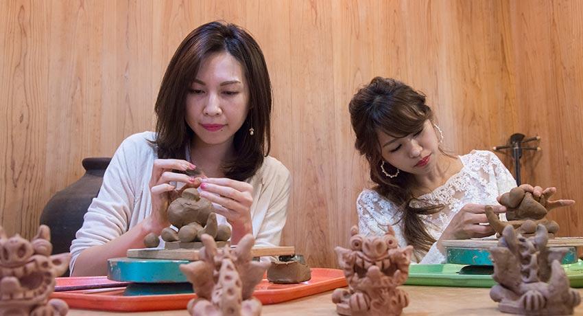 久米島の伝統文化を体験