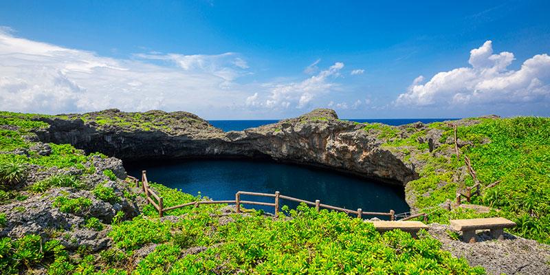 下地島の神秘的な天然記念物