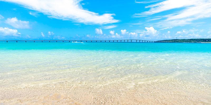 見渡す限りの美しいビーチをゆっくり味わう