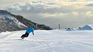 びわ湖のスキー場