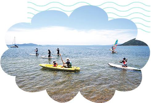 琵琶湖のアクティビティ