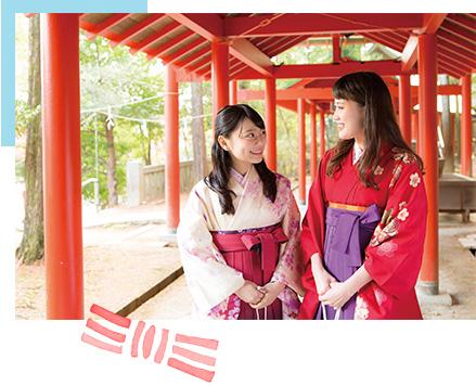 かるたの聖地・近江神宮でロケ地めぐり和装体験&かるた体験