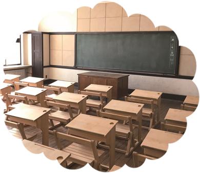通常非公開の部屋を公開豊郷小学校旧校舎群特別見学ツアー