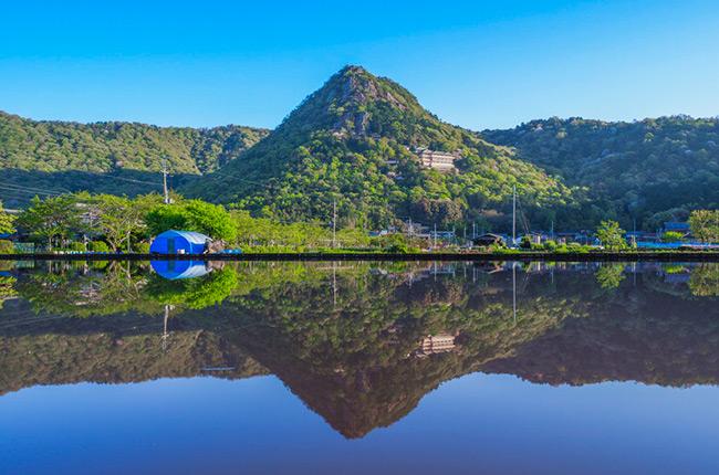 虹色の旅へ。滋賀・びわ湖