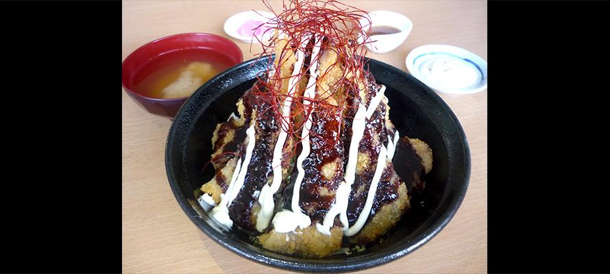 舞乃市のオロチ丼