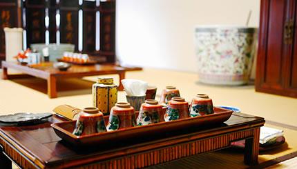 分銅屋 煎茶体験
