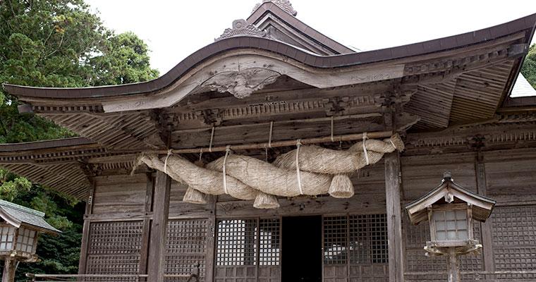 玉若酢命神社(隠岐の島町)