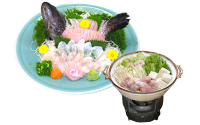 クエ料理(御前崎市)