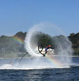 浜名湖レイクアクティビティフライボード