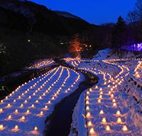 「#湯西川温泉かまくら祭」