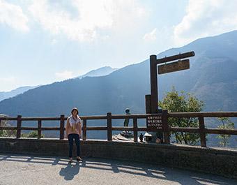 朝の祖谷渓散策