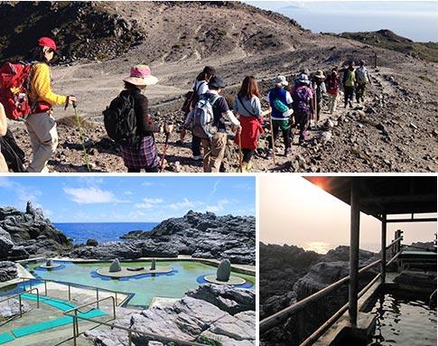 神津島の山歩き&温泉スポット