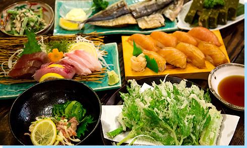 島寿司・天ぷら