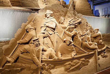 鳥取砂丘と砂の美術館