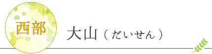 大山(だいせん)