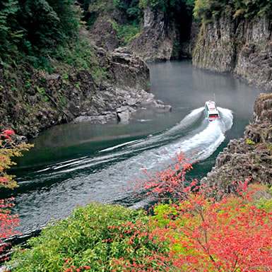 瀞峡(どろきょう)観光ウォータージェット船