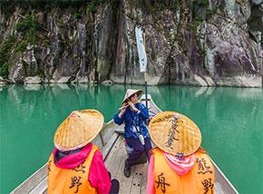 熊野川舟下り