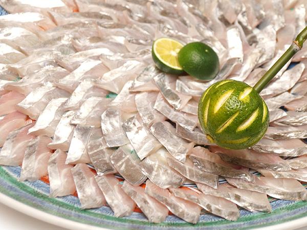 太刀魚の鏡盛り