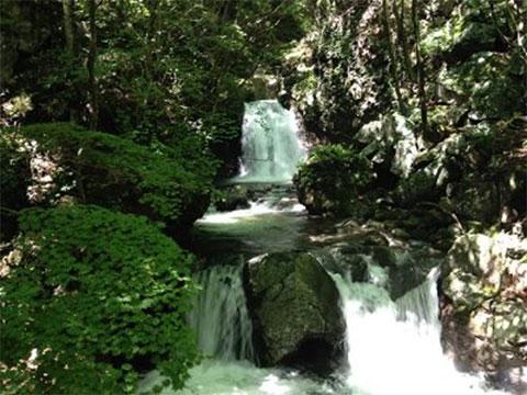 宮司の滝周遊コース