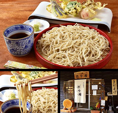 玄そばの香りと甘みを感じる富士吉田で数少ない手打ち蕎麦