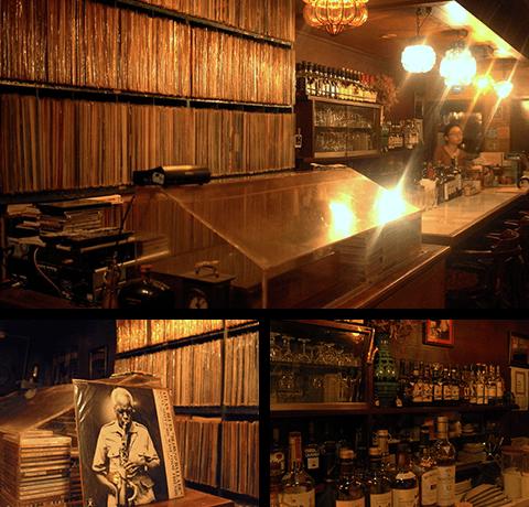 3,000枚のアナログ盤とウイスキーが織りなす極上時間