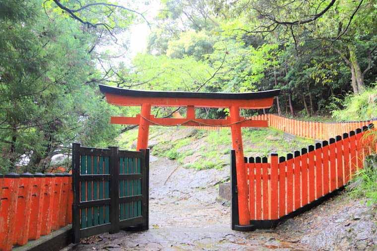神倉神社の鳥居