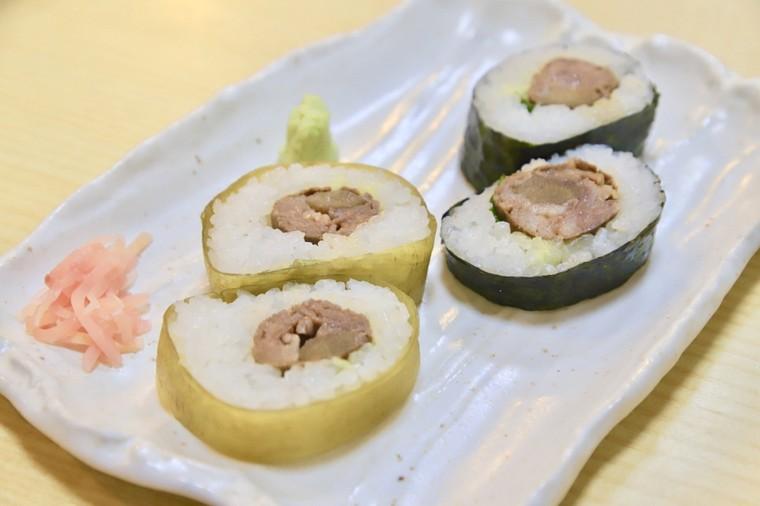 徐福寿司ののり巻き・昆布巻き