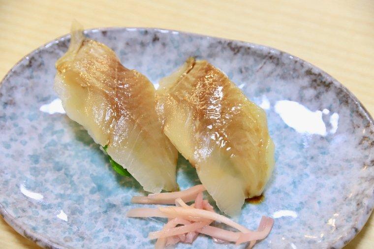 徐福寿司の熊野琥珀寿司