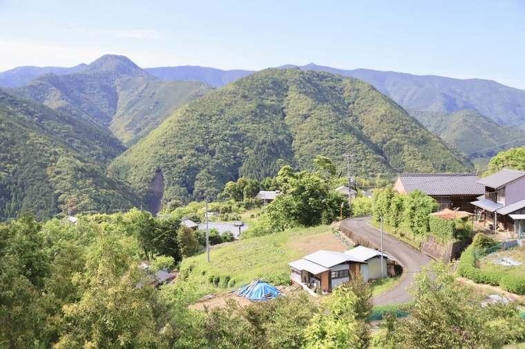 熊野古道は周辺の住民の生活を支える道