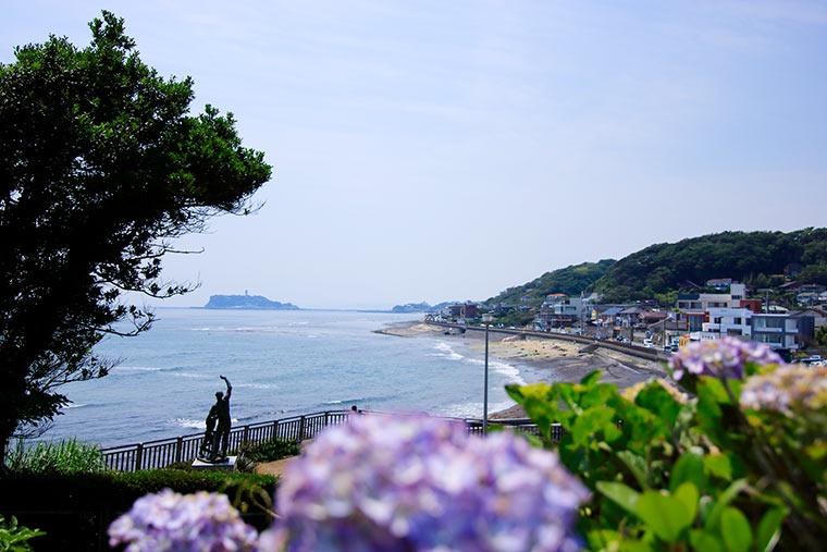 稲村ケ崎の海浜公園