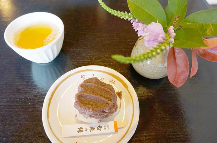 文珠荘 勘七茶屋の智恵の餅