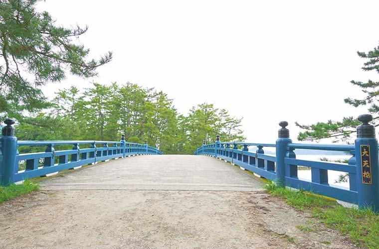 大天橋を渡ると天橋立