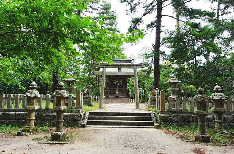 天橋立神社の社殿