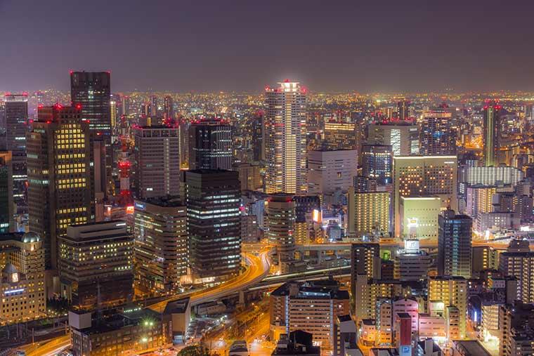 梅田スカイビル 空中庭園展望台
