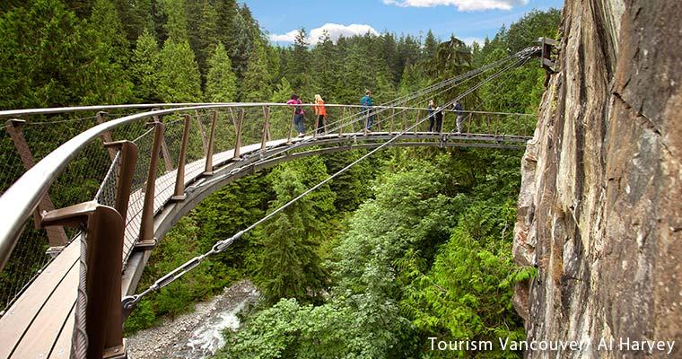 Tourism Vancouver/ Capilano Suspension Bridge Park