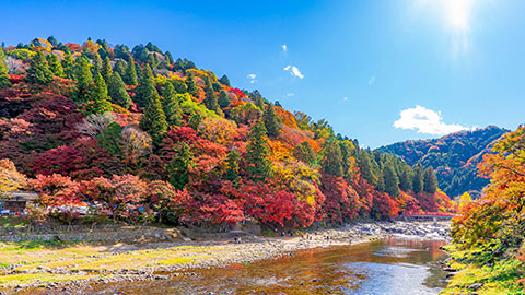 絶景の渓谷・渓流30選!日本の美しい川で夏の行楽や秋の紅葉狩りを楽しもう